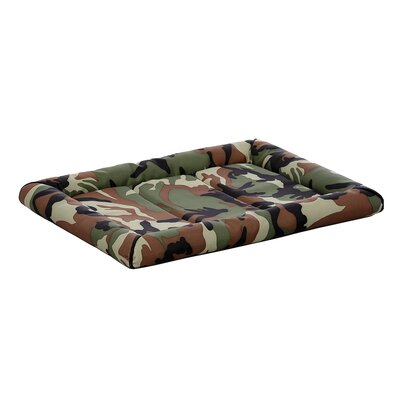 "Quiet Time Maxx Dog Bolster Size: 30""  (30"" L x 20.8"" W) 40530-CMGR-1P"