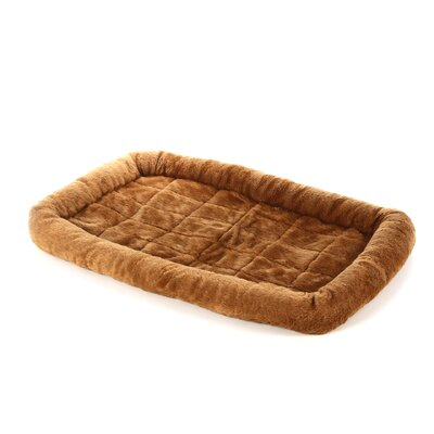Quiet Time Bolster Size: Medium (30 L x 21 W), Color: Cinnamon