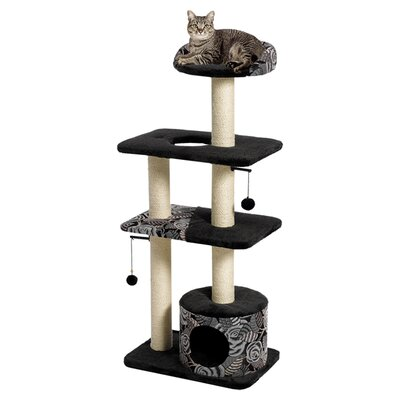 51 Feline Nuvo Tower Cat Tree