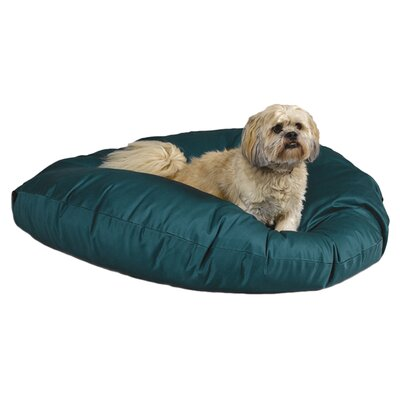 Quiet Time eSensuals Round Dog Pillow Size: Medium (34 L x 34 W), Color: Hunter Green