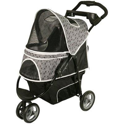 Promenade Standard Pet Stroller in Black & White