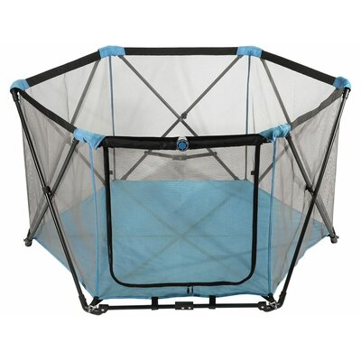 29 Portable Pet Pen Color: Trailblazer Blue