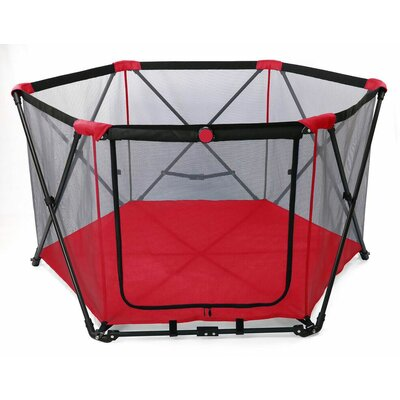 29 Portable Pet Pen Color: Pathfinder Red