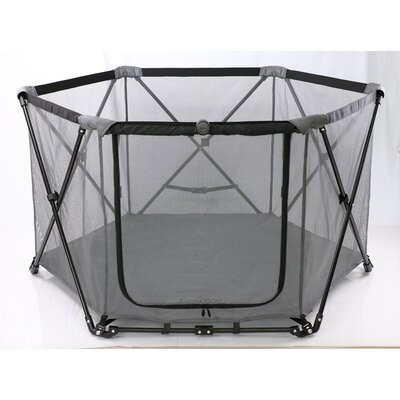 29 Portable Pet Pen Color: Graphite Gray