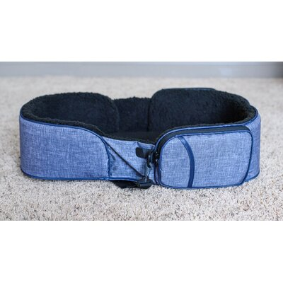 Traveler Dog Bed Color: Gray