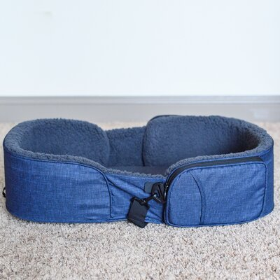Traveler Dog Bed Color: Navy