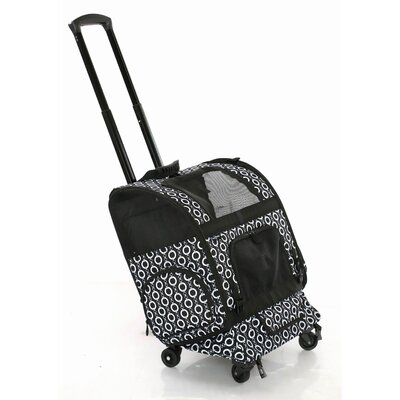 Roller Pet Carrier Size: 19 H x 16.5 W x 10.5 D