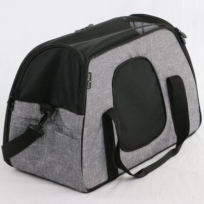 Carry Me Sleeper� Pet Carrier Color: Heather Gray