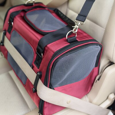 Gen7 Commuter� Pet Carrier Color: Burgundy