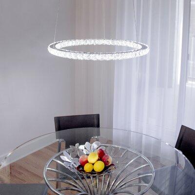 Cadmoin 50-Light LED Crystal Pendant