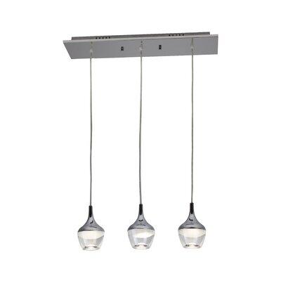 Doyle 3-Light LED Kitchen Island Pendant