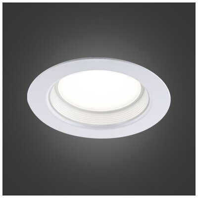 5 LED Recessed Lighting Kit Trim Color: White