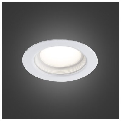 3.75 LED Recessed Lighting Kit Trim Finish: White
