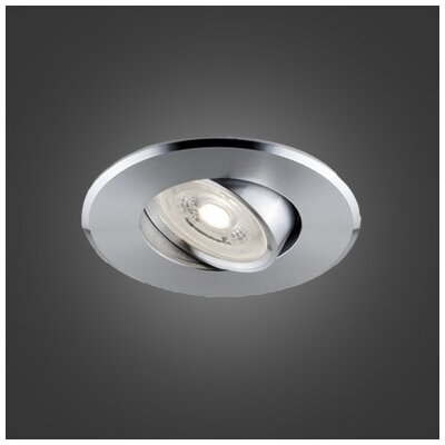 Flex 3.75 LED Recessed Lighting Kit Trim Finish: Aluminum