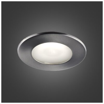 Series 300 4.5 LED Recessed Lighting Kit Trim Finish: Brushed Chrome