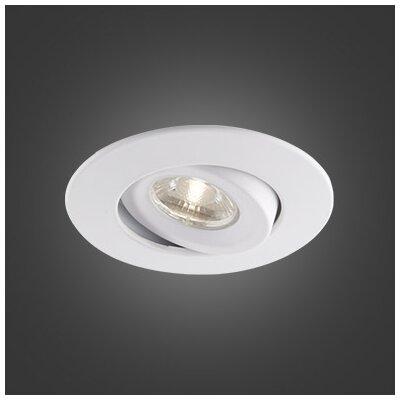 4.5 LED Recessed Lighting Kit Trim Color: White