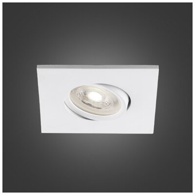 3.75 LED Recessed Lighting Kit Trim Finish: White