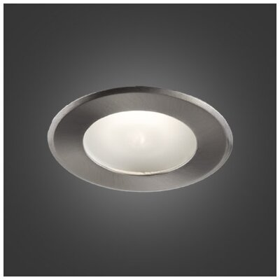 Series 300 4.5 LED Recessed Lighting Kit Trim Color: Brushed Chrome