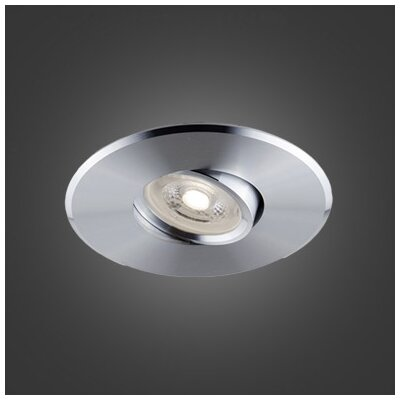 Laser 4.5 LED Recessed Lighting Kit Trim Color: Aluminum