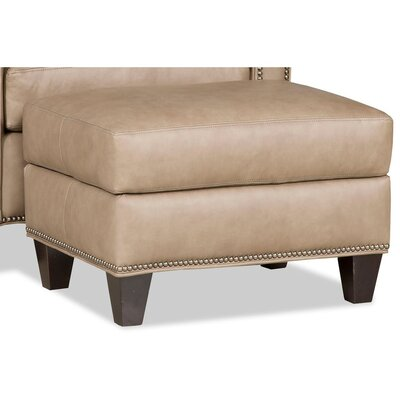 Greco Leather Ottoman