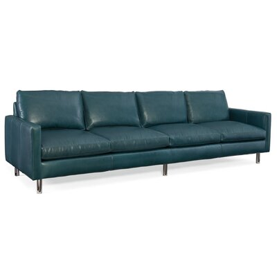 Pierce Leather Sofa Upholstery: 913100-95
