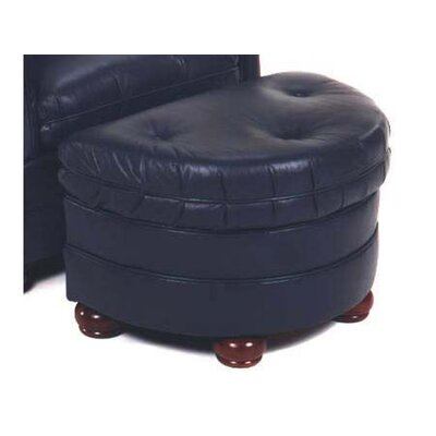Rockwell Leather Ottoman