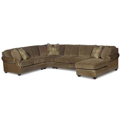Warner Leather Sectional