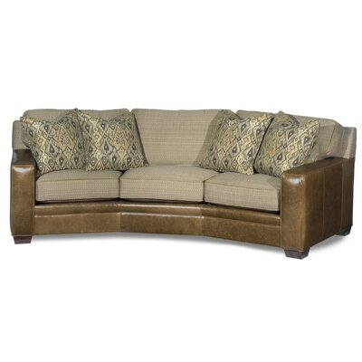 Hanley Angled Leather Sofa