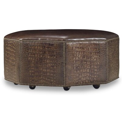 Octavius Cocktail Leather Ottoman