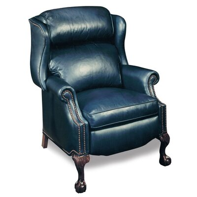 Presidential Wing Leather Recliner