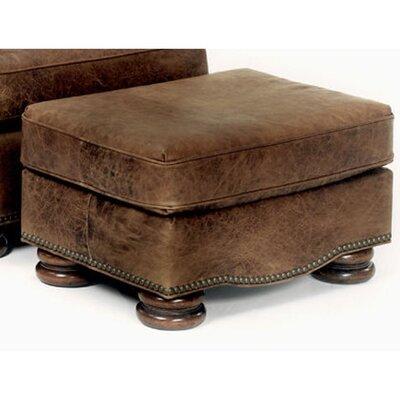 Laredo Leather Ottoman