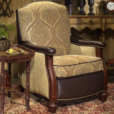 Hitchcock High Leg Recliner 4294901200-65CB-ANTIQUE