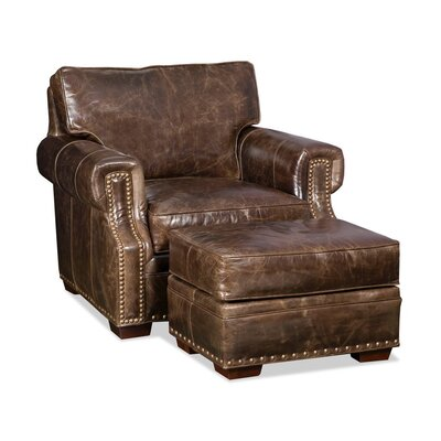 Jude Armchair and Ottoman