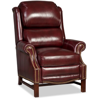 Alta High Leg Leather Recliner