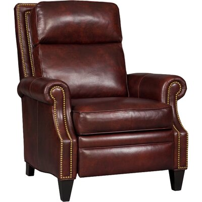 Afton Leather Manual Recliner