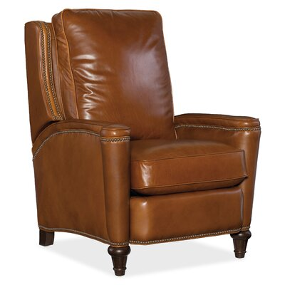 Leather Manual Recliner Body Fabric: Valencia Toro