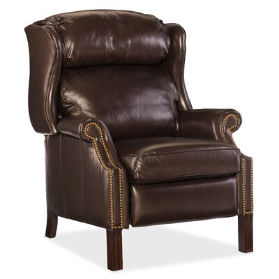 Sici Leather Manual Recliner Body Fabric: Cipriani