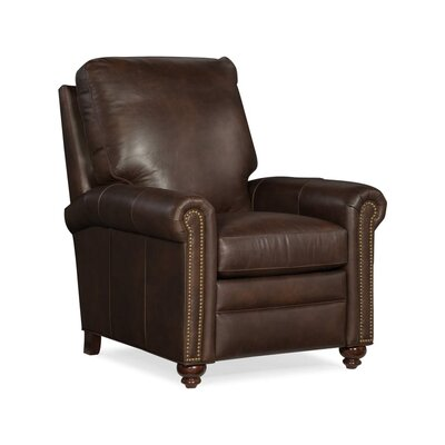 Raylen Leather Manual Recliner