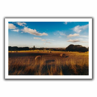 """Open Fields' by John Black Photographic Print on Rolled Canvas Size: 16"""" H x 22"""" W Oce039-12x18"""