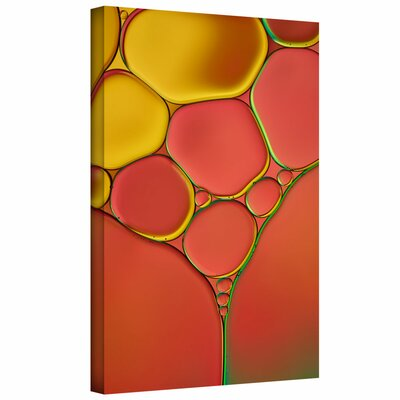 'Stained Glass I' by Cora Niele Graphic Art on Wrapped Canvas 0nie072a0812w