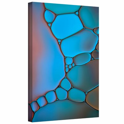 'Stained Glass II' by Cora Niele Graphic Art on Wrapped Canvas Cniele-073-12x18-w