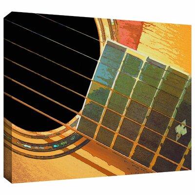 'Impresion de la Guitarra' by Dean Uhlinger Photographic Print on Wrapped Canvas Size: 36