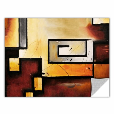 'Abstract Modern' Graphic Art on Wrapped Canvas Size: 14