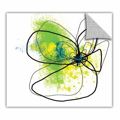 ArtApeelz 'Citron Petals' by Jan Weiss Graphic Art on Canvas Size: 14