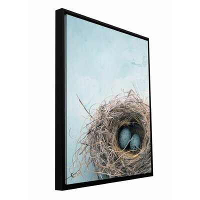 "'Blue Nest' by Elena Ray Framed Photographic Print on Wrapped Canvas Size: 18"" H x 12"" W x 2"" D 0ray017a1218f"