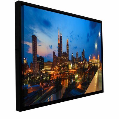 Cleveland 8 by Cody York Framed Photographic Print Size: 12