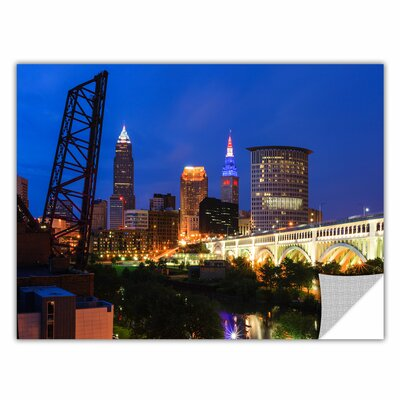 Cleveland 21 by Cody York Art Appeelz Removable Wall Mural Size: 12