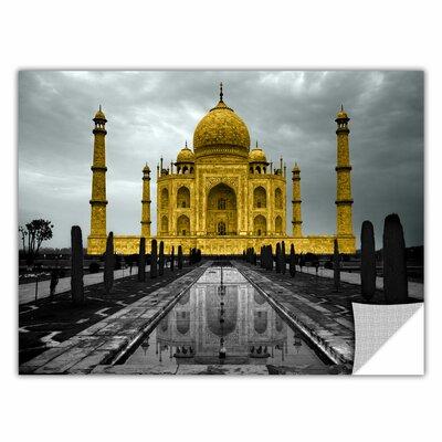 ArtApeelz 'Taj Mahal' by Revolver Ocelot Photographic Print on Wrapped Canvas Size: 12