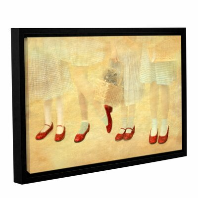 Ruby Slippers by Antonio Raggio Framed Graphic Art Size: 24