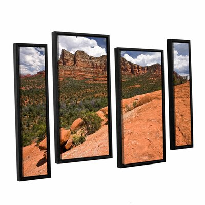 Sedona by Cody York 4 Piece Framed Photographic Print Size: 36